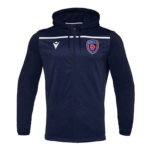 Brampton Rovers AFC Coach Aether Hoody Full Zip Top Adult