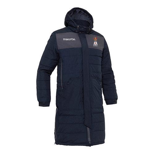Irlam JFC Suva Long Padded Bench Jacket Adult