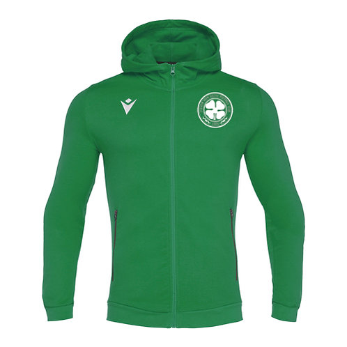 Cleator Moor Celtic FC Cello Full Zip Hooded Sweatshirt Junior