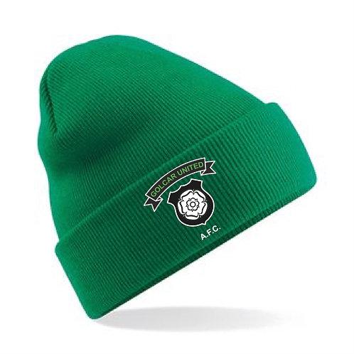 Golcar United Teamwear Beanie Green