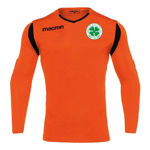 Cleator Moor Celtic FC Antilia Padded GK Away Shirt Junior