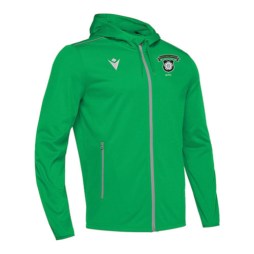 Golcar United Freyr Hoody Full Zip Top Green Adult