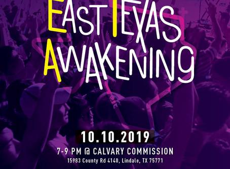 [10.10.2019] East Texas Awakening prayer gathering