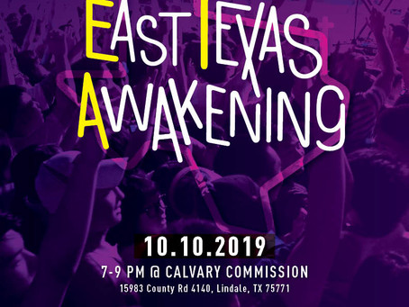 [10.10.2019] East Texas Awakening prayer gathering