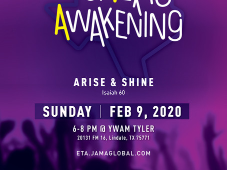 [2.9.2020] East Texas Awakening Prayer Gathering