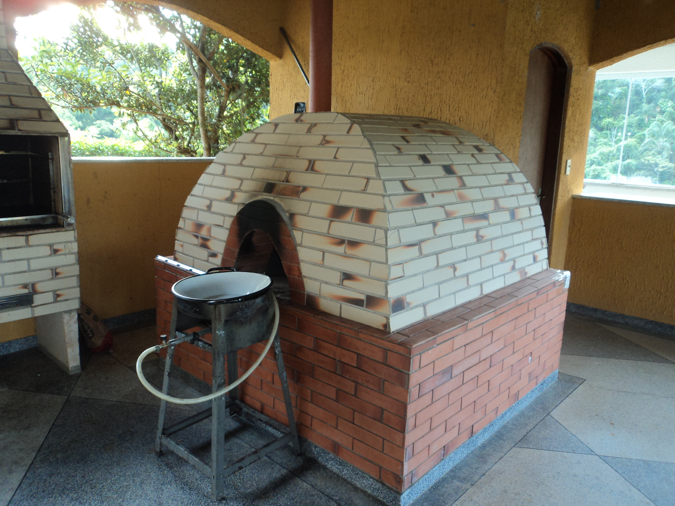 sitio santa clara forno de pizza