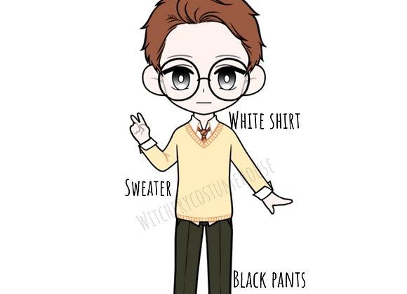 Pre Order Casual school boy uniform : wootd056 • Ob11   NenDoll
