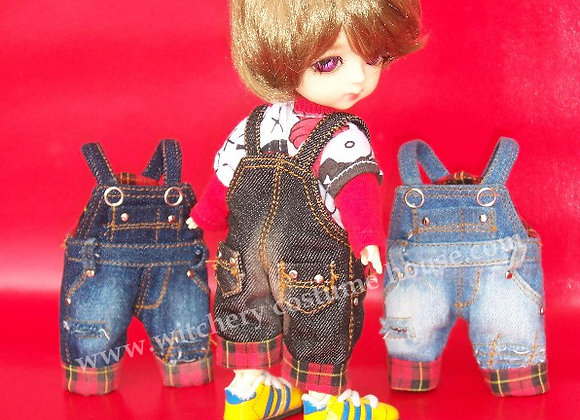 Baggy denim overalls : wootd077 • Lati Yellow | Middie blythe
