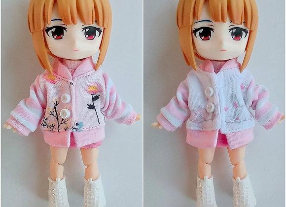 Baby pink Jacket : wootd011 : Ob11/NenDoll