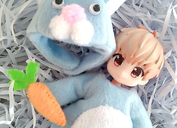 Mascot 005 The bunny Blue | Select size