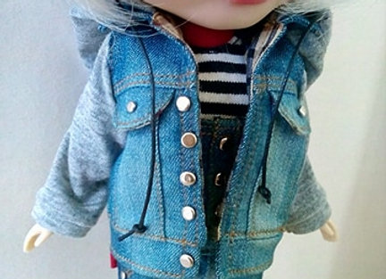 Hybrid cardigan with hoods : wootd116 : Blythe | Pullip