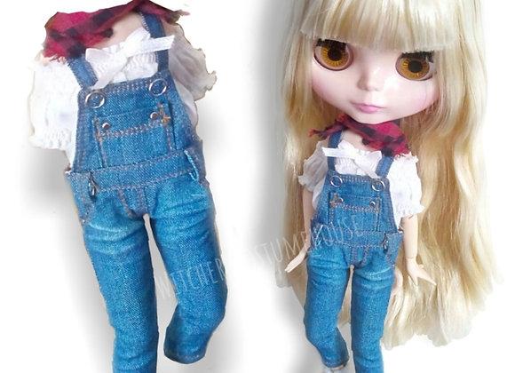 Denim overalls : wootd064 • Blythe   PureNeemo