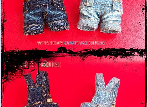 denim overalls short : wootd090 • Blythe | PNS