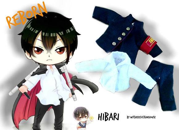 Hibari kyuya uniform set | Reborn : Ob11 | NenDoll