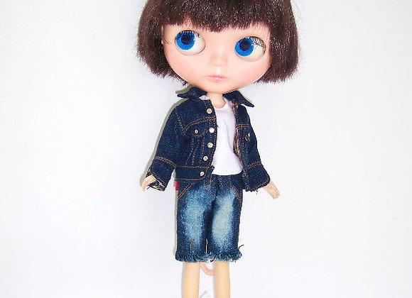 Denim cardigan : wootd108 : Blythe | Pullip
