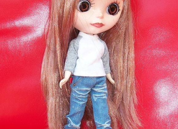 Denim trousers : wootd109 : Blythe | Pullip