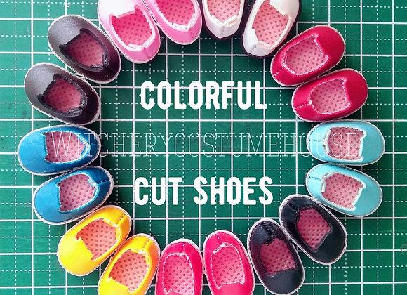 Colorful Cut shoes : wootd060 • Obitsu11 | NenDoll