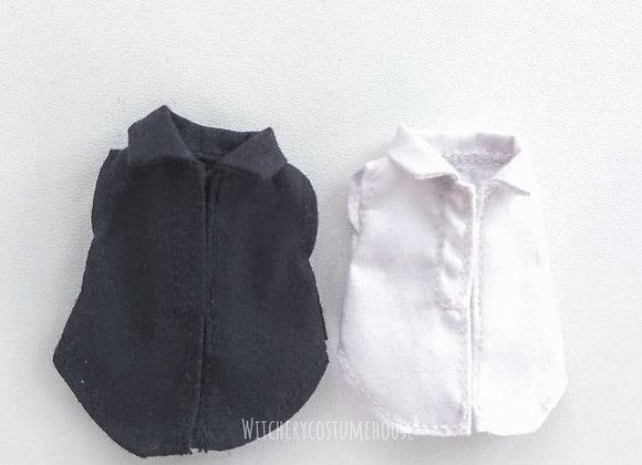 Sleeveless cutting shirt : wootd039 : Ob11/NenDoll