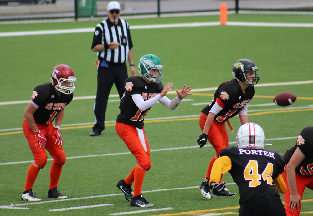 Zone 2 Big Country Football, 2018 Alberta Summer Games, Danny Skelton