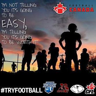 Football Canada _ #TryFootball _ Footbal