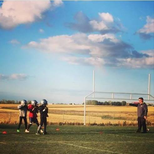Airdrie Storm Football | Airdrie Minor Football | Tyrell Rohl | Airdrie Tackle Football | Airdrie Peewee Football