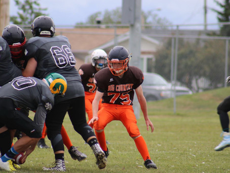 Big Country Football team starts 2018 Alberta Summer Games off with a Bang.
