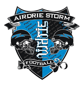 Airdrie Storm Football Logo Transparent