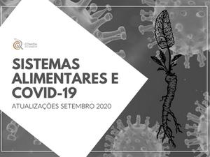 Sistemas Alimentares e COVID-19: atualizações Setembro 2020