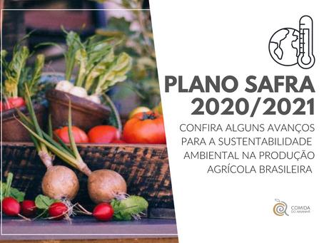 Plano Safra 2020/2021: alguns impactos na sustentabilidade ambiental da produção agrícola brasileira