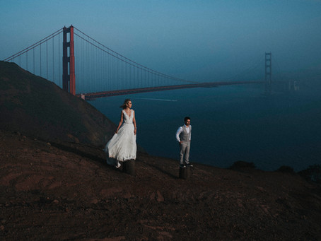 Trash The Dress | Karely & Robert | San Francisco, California,
