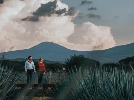 Tequila | Pre boda, Adriana & David | Jalisco