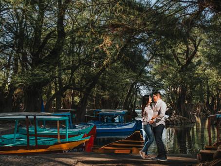 Lago de Camécuaron | Sesión Natalia & Fredy | Tangancícuaro, Michoacan.