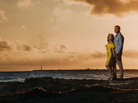 Isla Cozumel | Sesión de compromiso, Pao & Alex | Quintana Roo, Mexico