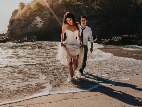 Isla Cocinas | Trash the dress | Sara & Leonel | Punta Pérula, Jalisco.