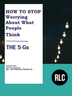 How to Stop Worrying About What People Think