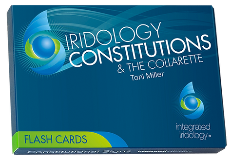 Integrated Iridology Constitution& Collarette Flash Cards