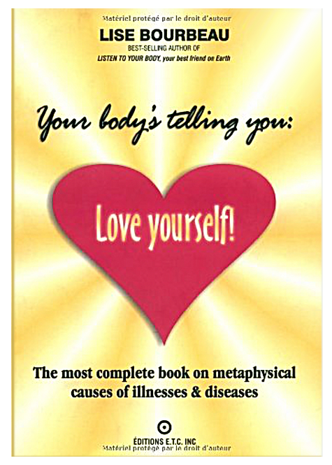 Your body's telling you love yourself.