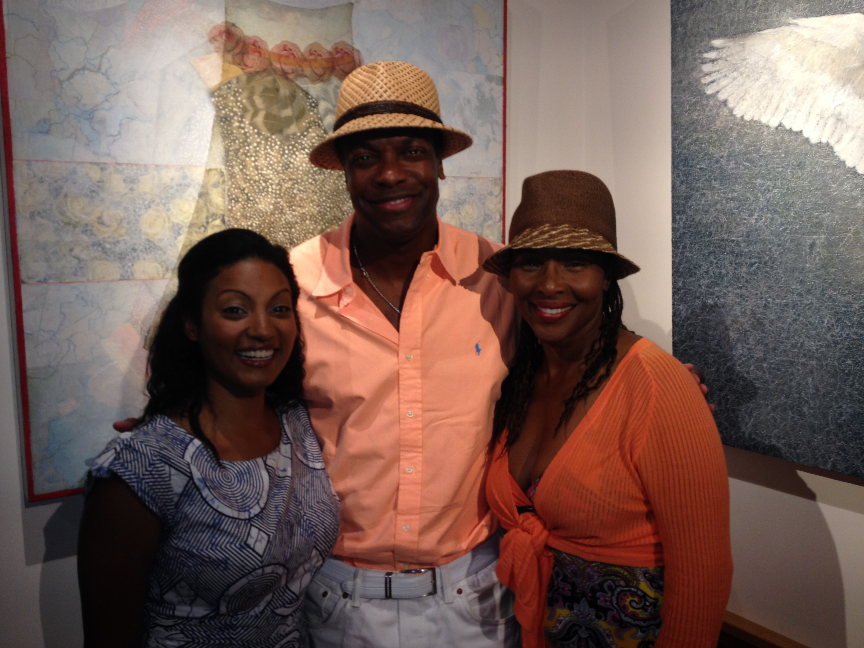 W/ Chris Tucker & Suzzanne Douglas