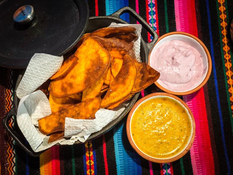 Chips de Camote Ninoska