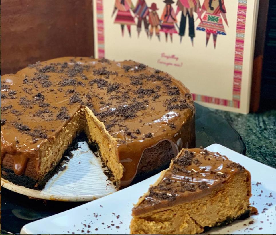 Cheesecake de Dulce de Leche Ninoska