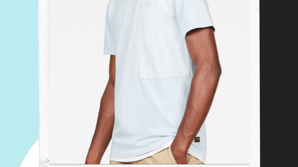 Mens Gstar Pocket Tshirt