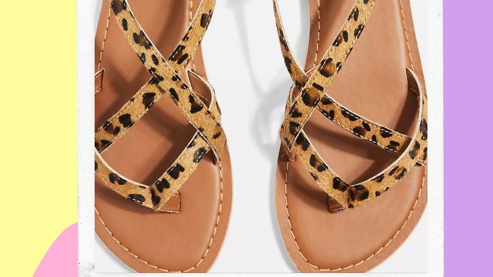 Ladies TopShop Genuine Leather Sandal