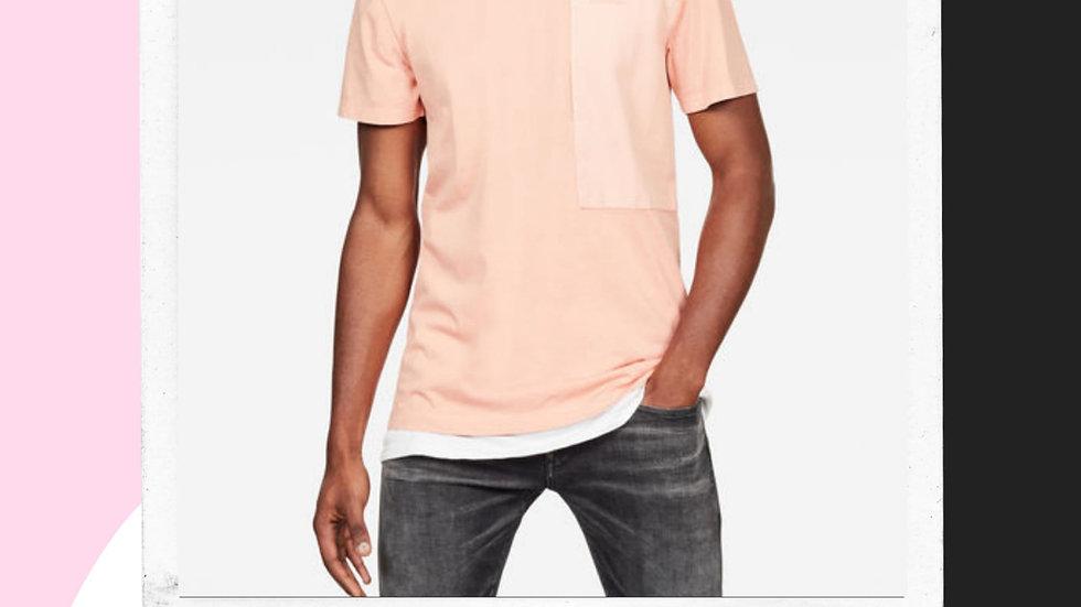 Mens Gstar Pocket Tshirt