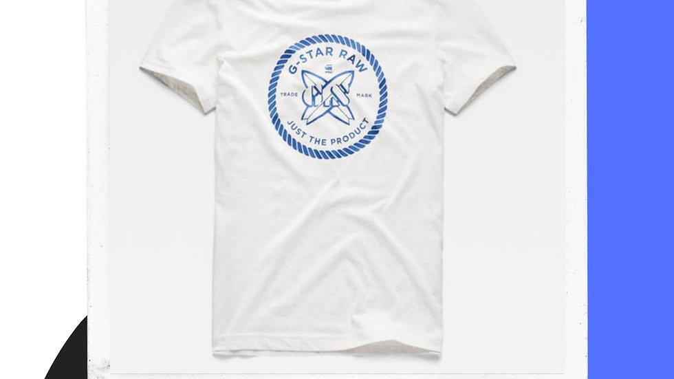Mens Gstar Surf Tshirt Logo