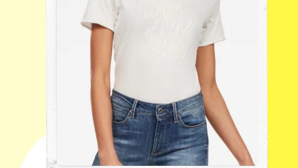 Gstar Ladies Graphic Slim Tshirt