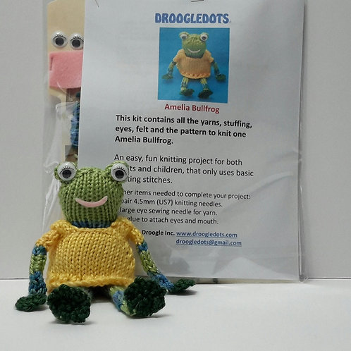 Amelia Bullfrog - Knitting Kit