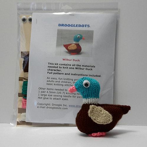 Wilbur Duck - Knitting Kit