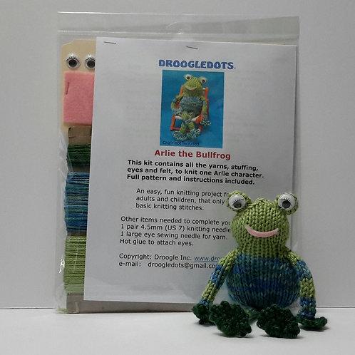 Arlie Bullfrog - Knitting Kit