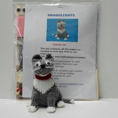 Charlie Cat - Knitting Kit