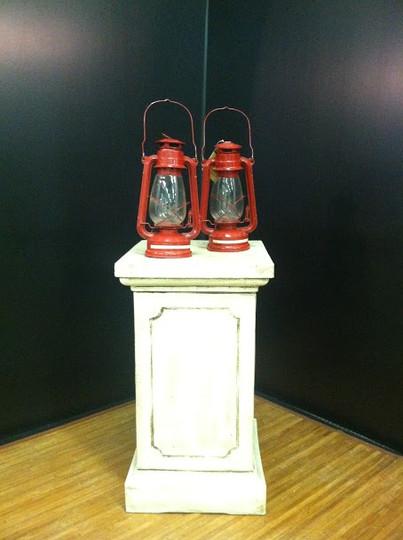 Red Camp Lantern